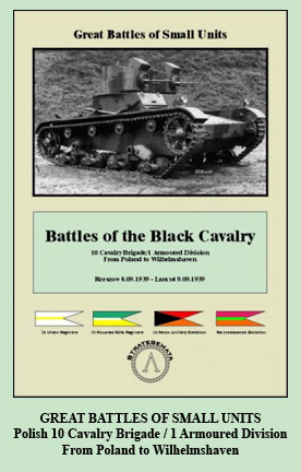Battles of the Black Cavalry Ad